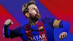 Messi vector creating in Affinity Designer