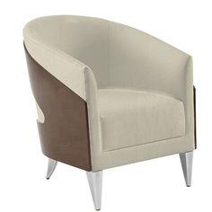 David Edward Aurora Lounge Chair Finish: Medium Cherry, Seat Color: Mineral Solace
