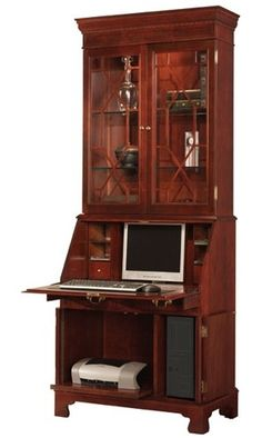 1000 images about small secretary desks for small spaces on pinterest secretary desks wood - Secretary desk for small spaces property ...