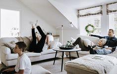 La famiglia di Annika in soggiorno - IKEA