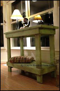 DIY Primitive Table | BlogHer