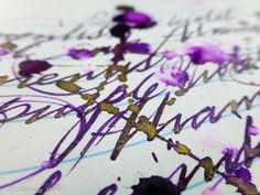 Autumn and Winter seem to be a good seasons for glittery inks. I am not sure why is that, but this is how I found it over last few years. It is almost tradition now that ink manufacturer like Diamine releases set of new shimmeristic colours around this period. This just happened making respectable set …