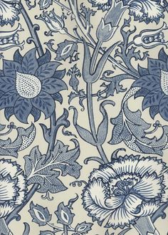 Arts & Crafts movement inspired wallpaper print - Thank you William Morris