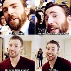 Chris Evans ... I can't even ...