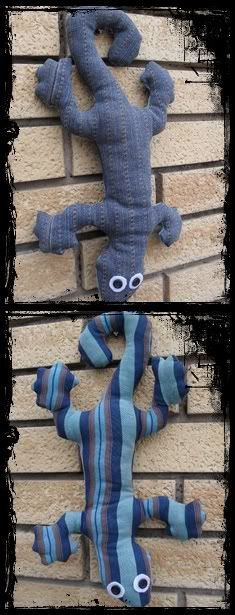 Violet Elephant: Lizard Plush Pattern