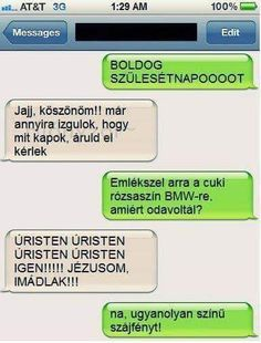 Na ez fájt. Funny Conversations, Minion Humor, Friday Humor, Geek Humor, Funny Messages, Me Too Meme, Good Jokes, Wholesome Memes, Funny Moments