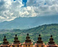 Pancha buddha, the White Gumba, Nepal