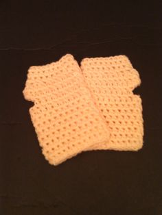 Cream-Colored Crochet Fingerless Gloves - Ready to Ship (#22-213) by NoreensCrochetShop on Etsy