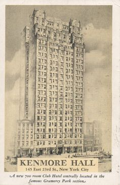 The literary past of a once-seedy Gramercy hotel