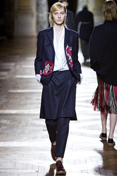 Dries Van Noten: осень–зима 2013/2014