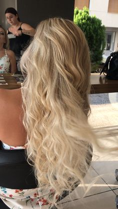 Amazing Hairstyles Down Hairstyles Straight Hairstyles Pretty Hairstyles Coupe Blonde Love Hair Gorgeous Hair Balayage Hair Body Wave Pretty Hairstyles, Easy Hairstyles, Amazing Hairstyles, Luscious Hair, Hair Day, Gorgeous Hair, Hair Looks, Hair Lengths, Dyed Hair