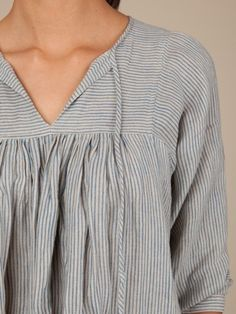 (via F A R M / peasant blouse.) | fox on the run