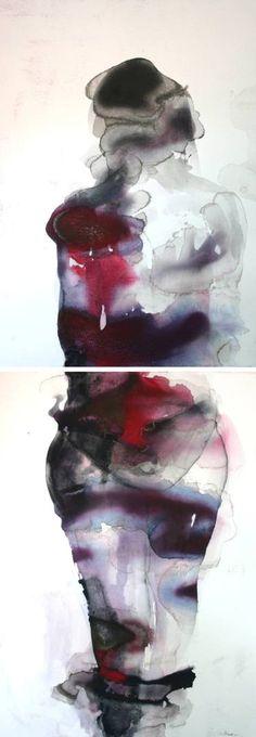 "Saatchi Art Artist Kristina Broza; Painting, ""A girl in love"""