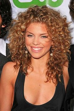 Perm? So fun and cute! Hairstyles For Thick Curly Hair