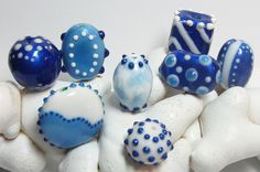polymer  clay, Kato clear and color liquid clays.
