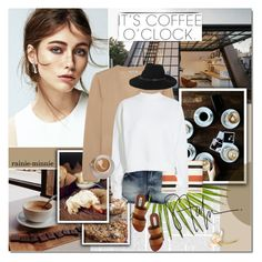 """It's coffee o'clock"" by rainie-minnie ❤ liked on Polyvore featuring Miu Miu, VILA, Sonia Rykiel, Acne Studios, Steve Madden and By Malene Birger"