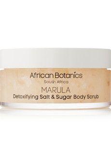African Botanics Marula Detoxifying Salt and Sugar Body Scrub, 200ml | NET-A-PORTER