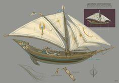 High Elf Ship by JonathanKirtz