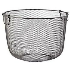 The Container Store > Industrial Mesh Basket for laundry hamper