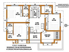 kerala house plans estimate sq ft home design floor plans site plans design color rendering services - Home Design Floor Plans