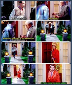 The Big Bang Theory - James Earl Jones and Sheldon ding-dong-ditch Carrie Fisher.