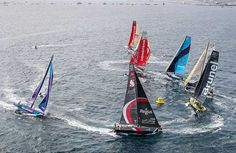 La flotta ha lasciato il spagnolo di Alicante alla volta di Lisbona per la prima tappa della Volvo Ocean Race 2017-18. Condizioni ideali, con vento e sole, e un foltissimo pubblico hanno salutato i sette team e, in un crescendo di azione e colpi di scena, Dongfeng ha guidato la flotta fuori dal golfo