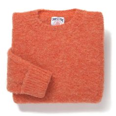 In love with this Shaggy Dog sweater in coral. I would wear that all winter!