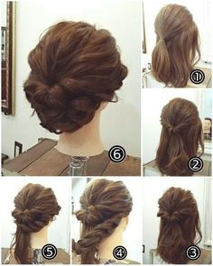 170 Easy Hairstyles Step by Step DIY hair-styling can help you to stand apart fr. Hairstyles, 170 Easy Hairstyles Step by Step DIY hair-styling can help you to stand apart from the crowds – Page 127 – My Beauty Note Source by mybeautynote. Easy To Do Hairstyles, Low Bun Hairstyles, Wedding Hairstyles, Hairstyle Ideas, Amazing Hairstyles, Hairstyle Names, Hair Ideas, Short Formal Hairstyles, Hairdos