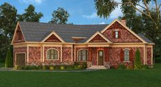 This 1 story Cottage features 2305 sq feet. Call us at 866-214-2242 to talk to a House Plan Specialist about your future dream home!