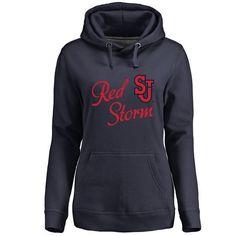 St. Johns Red Storm Women's Dora Pullover Hoodie - Navy - $44.99