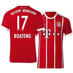Bayern Munich Jersey 17-18 Home jerome boateng Bayern Munich Shirt 6f7fe1646