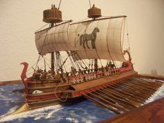 Image result for ancient greek ship