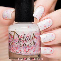 Delush Polish Rose Stud (Spring Has Sprung Collection)