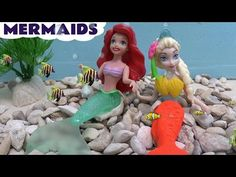 The Little Mermaid Ariel and her sisters JB Lego Compatible Collection - YouTube