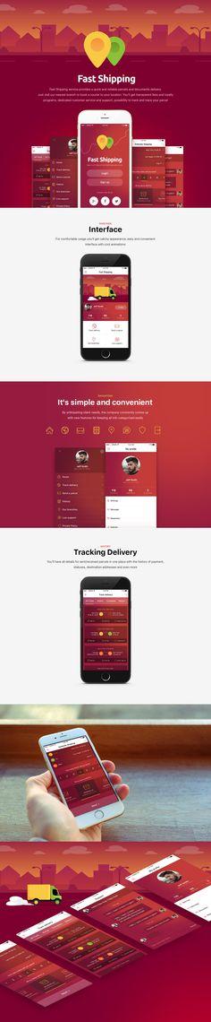 Fast Shipping, Interface © ElantixTeam