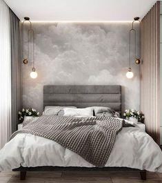 Modern Bedroom Inspirations Beds Ideas For 2020 Lounge Design, Design Room, Bed Design, Design Hotel, Gray Bedroom, Home Decor Bedroom, Master Bedroom, Master Suite, Budget Bedroom