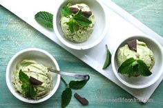 Vegan Raw Mint Chocolate Chip Ice Cream | 27 Delicious Paleo Recipes To Make This Summer