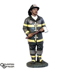 Fireman Figurine