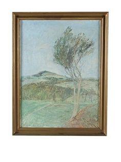 Landscape, 1953 Framed Artwork