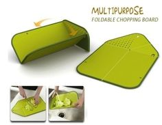 Multipurpose Foldable Cutting Board And Drainer!