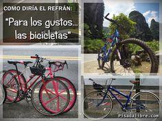 para los gustos las bicicletas mas allá del ciclismo