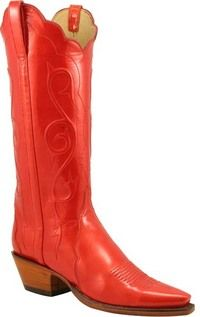 Sweet red cowboy boots