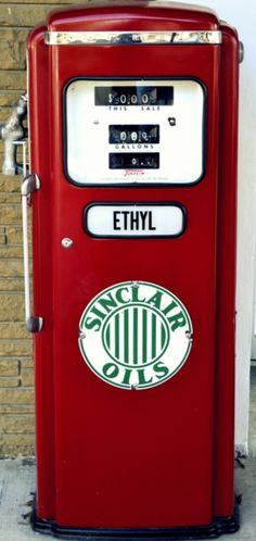 """I still remember, """"Fill 'er up with ethyl!"""" I remember when the ads said Ethyl was coming to town."""