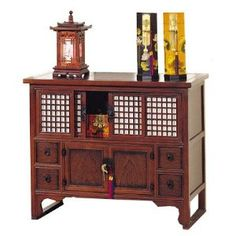 Oriental Furniture Asian Furniture and Decor Japanese Small Buffet Credenza Server Cabinet with Shoji Doors: Home & Kitchen Japanese Furniture, Japanese Home Decor, Asian Furniture, Oriental Furniture, Asian Home Decor, Japanese Interior, Japanese House, Furniture Styles, Chinese Furniture