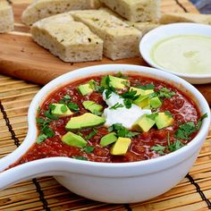 Ellie Krieger's Roasted Tomato and Black Bean Soup