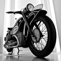 BMW R7 1934. Photographed at the BMW Museum in Munich. German engineering at it's finest.