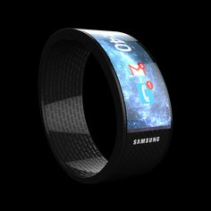 your -  cool concept watch.  If Sammy had come out with something as aesthetically striking as this,  maybe we would not all be yawning at their Galaxy Gear.