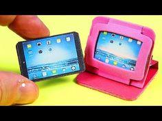 DIY Miniature Tablet / iPad + 2 Tablet Cases - YouTube