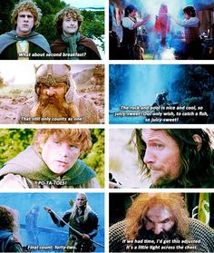 The Lord of the Rings - only those who have watched this knows whats going on :)