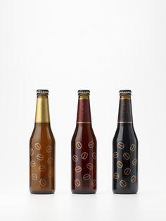 coffee_beer / 造り手の想いを伝える手貼りラベル for Sekinoichi